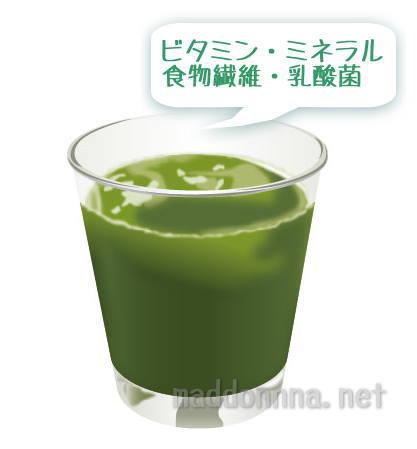 フルーツ青汁 酵素やビタミンミネラルなど